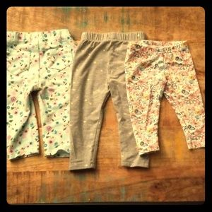 Girls 6-9M 3pc legging set
